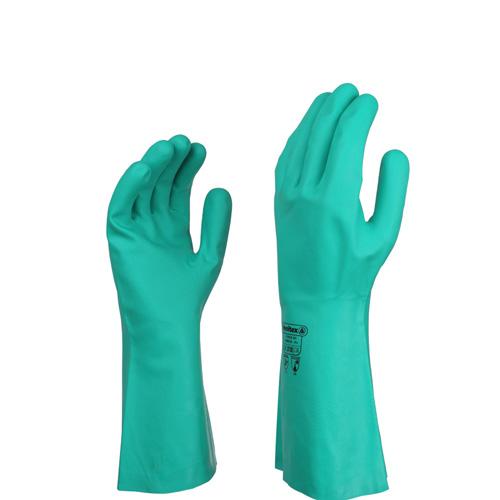 代尔塔201802丁腈防化手套